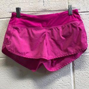 Lululemon pink shorts, sz 2, 63600